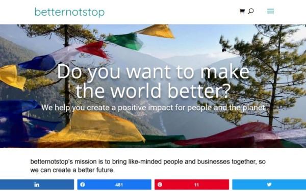 BetterNotStop.com business networking community